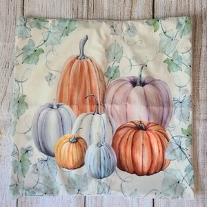 4 for $25 - Fall Pumpkins Throw Pillow Cover NEW